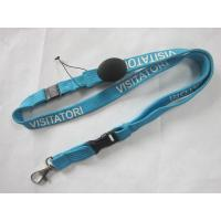 Wholesale 15cm Custom Printed Tubular Lanyard with Adjustable Buckle from china suppliers