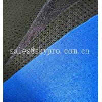 Quality Fade Resistant Breathable Neoprene Fabric Roll Double - Sided Polyester Knitted for sale