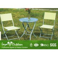Wholesale Contemporary Outdoor Living Patio Furniture , Outside Lawn Furniture Powder Coated Frame from china suppliers