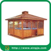 Wholesale Outdoor Garden Wooden Gazebo(WG-05) from china suppliers