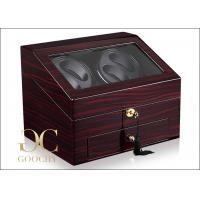 Wholesale Rotary Watch Winder Box / Dual Watch Winder Battery Powered  from china suppliers