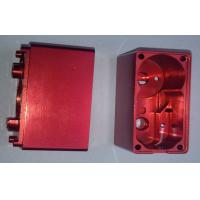 Wholesale Red Anodized Custom Precision CNC Machining Services Aluminum Electronic Enclosures from china suppliers