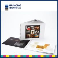 Wholesale Hardcover Spiral Bound Booklet Printing with single or double wire O bound Binding from china suppliers