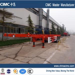 Wholesale container semi trailer , tri-axle 40ft container semi trailer price from china suppliers