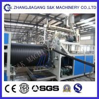 Wholesale Small Diameter PVC Pipe Extrusion Machine 1200Mm Length CE / SGS / ISO from china suppliers