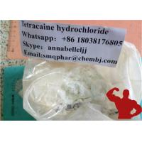 Wholesale 99% Medical Local Anesthetic Drugs Tetracaine Hcl Pain Killer Tetracaine Hydrochloride 136-47-0 from china suppliers