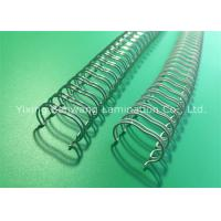 Wholesale Silver White Atlas Double Loop Wiree Binding Combs 11.1mm 23×100 Pcs / Box from china suppliers