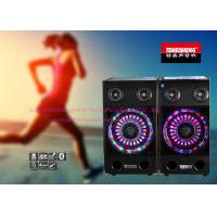 Wholesale Portable Bluetooth Amplifier Speakers GT Input With LED Light from china suppliers