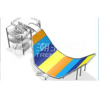 Wholesale Amusement Park Fiberglass Water Slides SGS Audited Water Park Equipment from china suppliers