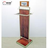 Wholesale Custom Graphic 2-way POP Merchandising Displays Metal Hook Hanging Belt Display Rack from china suppliers