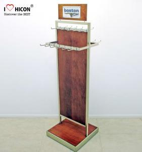 Wholesale Custom Graphic 2-way POP Merchandising Displays Metal Hook Hanging Belt Display Rack from china suppliers