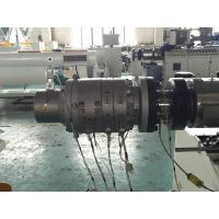 Wholesale Conical Twin Screw Extruder Pvc Pipe Extrusion Machine For Waste Water Pipe from china suppliers