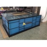 Buy cheap 1200mm Electric Heating Japanese Teppanyaki Grill Table For Hotel / Restaurant from wholesalers