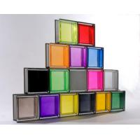 Wholesale hot-selling Rocky decorative parallel glass block from china suppliers