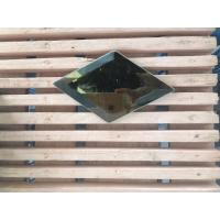 Wholesale Stained Beveled Edge Glass Mini Size 50 Mm * 50 Mm Flat Round Beveled Edge from china suppliers
