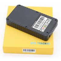 Quality Black Large Capacity Battery Magnetic Gps Tracker Anti Lost Without Cable for sale