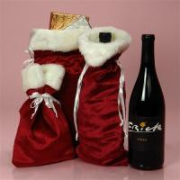 Wholesale Christmas Velvet Wine Bag from china suppliers
