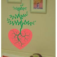 Wholesale Large Wall Flower Stickers G135 / Design Wall Sticker from china suppliers