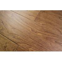 Buy cheap multi layers Birch Engineered wood Flooring, handscraped and stained color from wholesalers