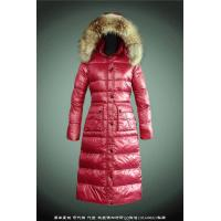 Wholesale wholesale designer moncler women down coats with big raccoon fur from china suppliers