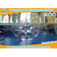 Wholesale Orange String TPU Human Sized Bubble Ball Inflatable Football Games For Adult from china suppliers