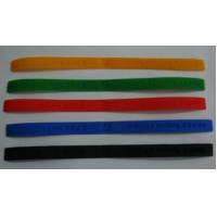 Buy cheap Colorful Custom Rubber Bracelets, Personalized silicone wrist bands for promotion gift from wholesalers