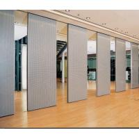 Wholesale Movable Acoustic Wooden Partition Wall Commercial Furniture Aluminum Frame from china suppliers