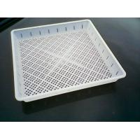 Wholesale White Square Plant Pot Saucers With Small Holes For Seeding , PP from china suppliers
