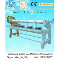 Wholesale Four Link Carton Box Automatic Rotary Slotter Machine 0 - 60 Pieces / Min from china suppliers