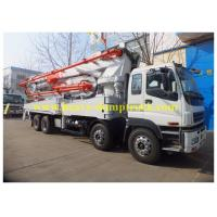 Wholesale ISO Concrete Pump Lorry with ISUZU chassis 47m , truck mounted pump from china suppliers