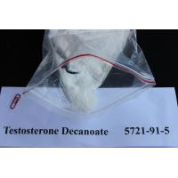 Wholesale Injectable Testosterone Steroids / Testosterone Decanoate Raw Steroid Powders 5721-91-5 To Gain Weight from china suppliers