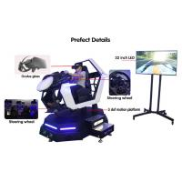 Quality VR Car Racing 9D Simulator Speed Arcade Play F1 Fast Driving 3D Motion Simulator for sale