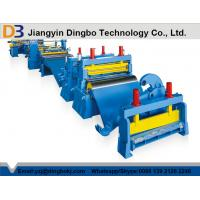 Buy cheap Automatic Easy OperationSlitting Line With Color Customized from wholesalers