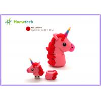 Quality Promotional Unicorn Real Capacity Horse Pen Drive , Micro Usb Memory Stick Minion for sale