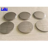 Wholesale Retailed Blister Pack Button Coin Cell Battery , Light Weight Cr2016 Lithium Battery from china suppliers