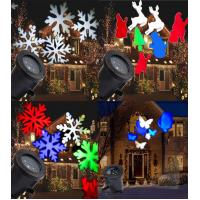Wholesale Gemmy Lightshow Swirling White Snowflakes LED Projection Light SnowFlurry NIB from china suppliers