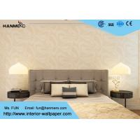 Wholesale 0.53*10m Modern Removable Wallpaper for Living Room , Beige Geometric Pattern Printed from china suppliers