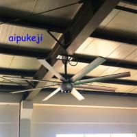 China Gearless BLDC Motor Quiet Ceiling Fans , Industrial Ceiling Fans For Warehouses on sale