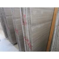 Wooden Grey Marble Slab for Hotel Project