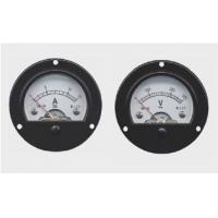 Wholesale Mini Round Panel Meter , Moving Iron Instruments AC / DC electrical energy meter from china suppliers