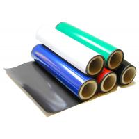 Quality Custom Cut Flexible Rubber Magnet Sheet / Magnetic Sheeting Roll with 630mm Width Max for sale