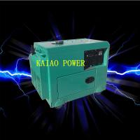 Wholesale Backup Small Diesel Generators 5.0KW 72dB Noise Level , 912*532*740mm from china suppliers