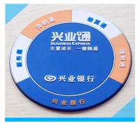 Wholesale factory custom logo pvc drink coaster from china suppliers