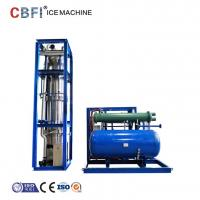 Wholesale Low Power Consumption Ice Tube Machine For Supermarkets / Cold Drink Shops from china suppliers