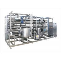 Wholesale UHT Sterilizer Automatic Juice Processing Equipment , Fruit Juice Processing Machines from china suppliers