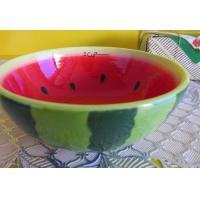 Wholesale Scale watermelon daily-use ceramics export fruit bowl tableware from china suppliers