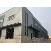 Buy cheap Custom Prefabricated Steel Structure Warehouse Metal Garage Building Galvanized Surface from wholesalers