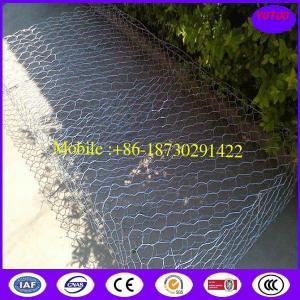 Wholesale Galvanized Hexagonal Gabion Baskets from china suppliers