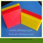 high property UHMWPE plastic sheet/polyethylene plastic block
