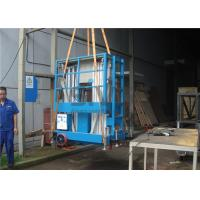 Wholesale Push Around Vertical Mast Lift , 12 Meter Working Height Electric Work Platform from china suppliers